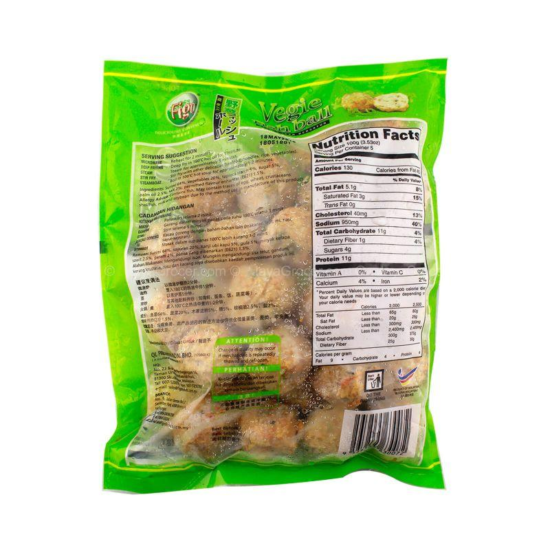 Figo Vegie Fish Ball 500g