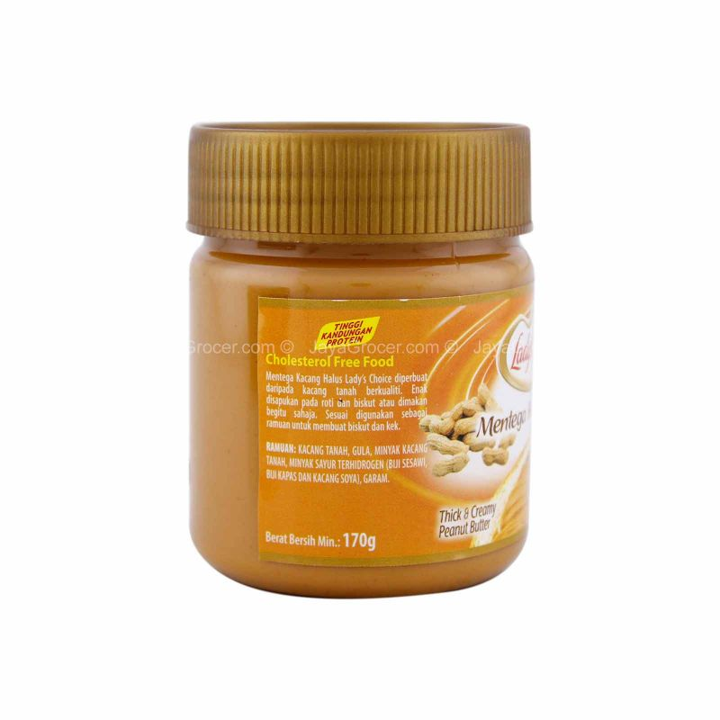 Lady's Choice Thick & Creamy Peanut Spread 175g