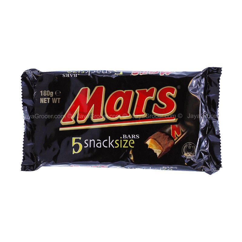 Mars Bar Chocolate Snack Size Pack 180g