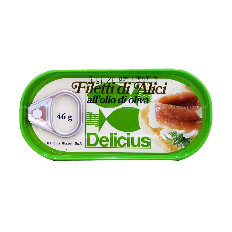 Delicius Anchovy in Olive Oil 46g