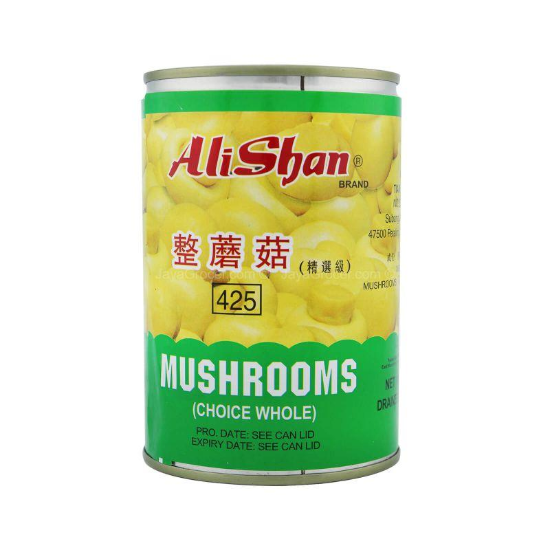 Ali Shan Choice Whole Mushrooms 425g