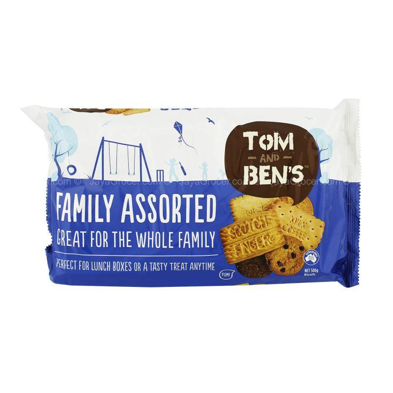 Tom and Ben's Family Assorted Biscuits 500g