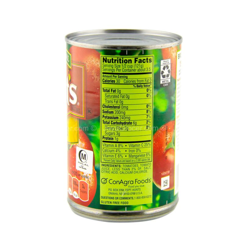 Hunt's Diced Cut Tomatoes 411g
