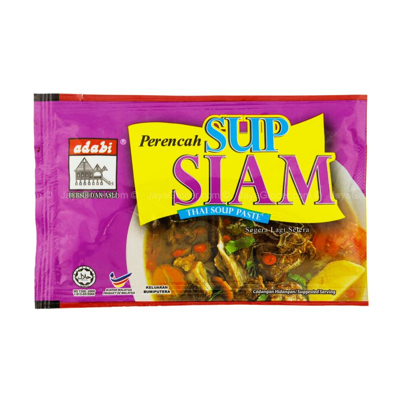 Adabi Thai Soup Paste 40g