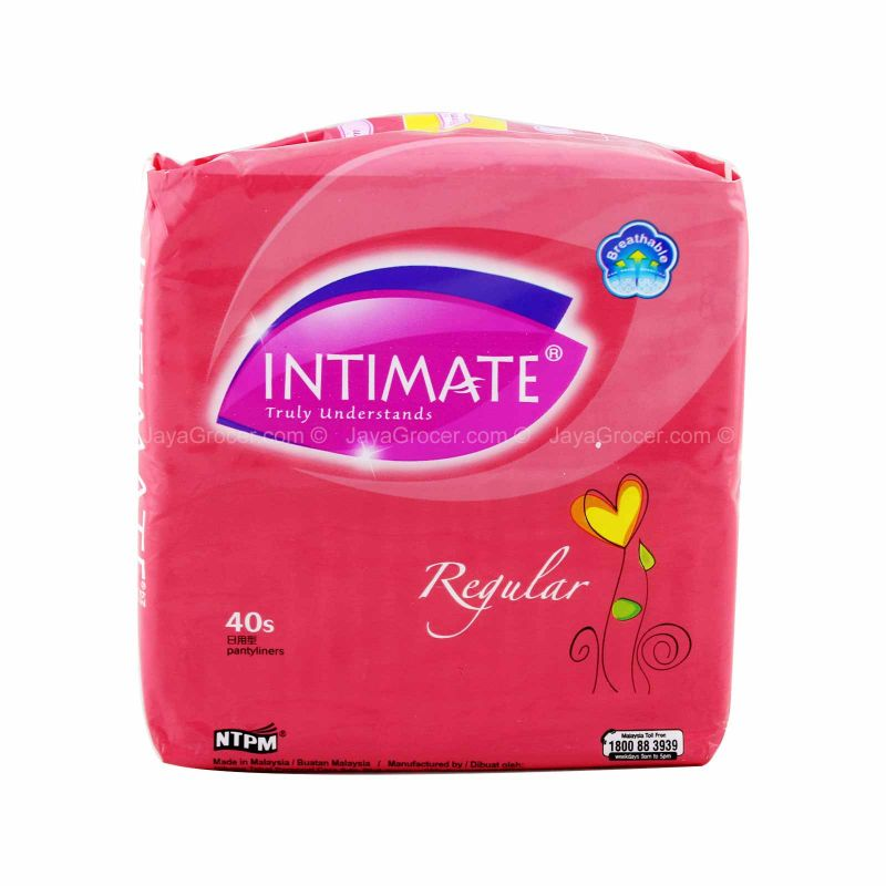 Intimate Regular Pantyliner 40pcs