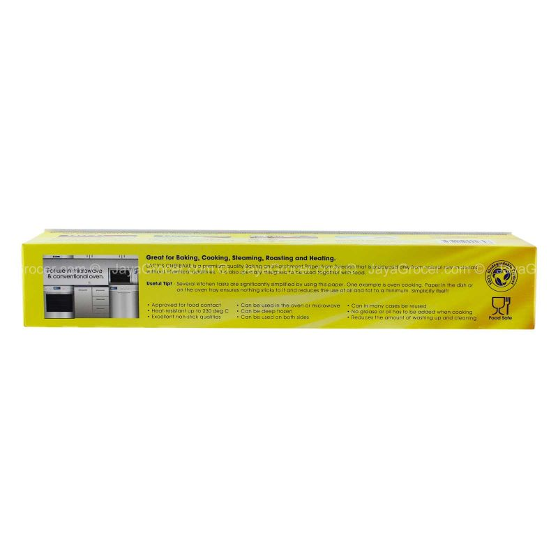Lacy's Chef Bake Baking Paper 30cm x 5m