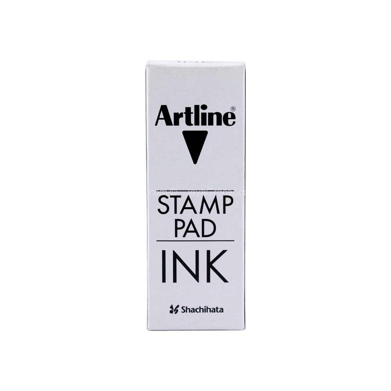 Shachihata Artline Stamp Pad Ink Black 50 c.c. 1unit