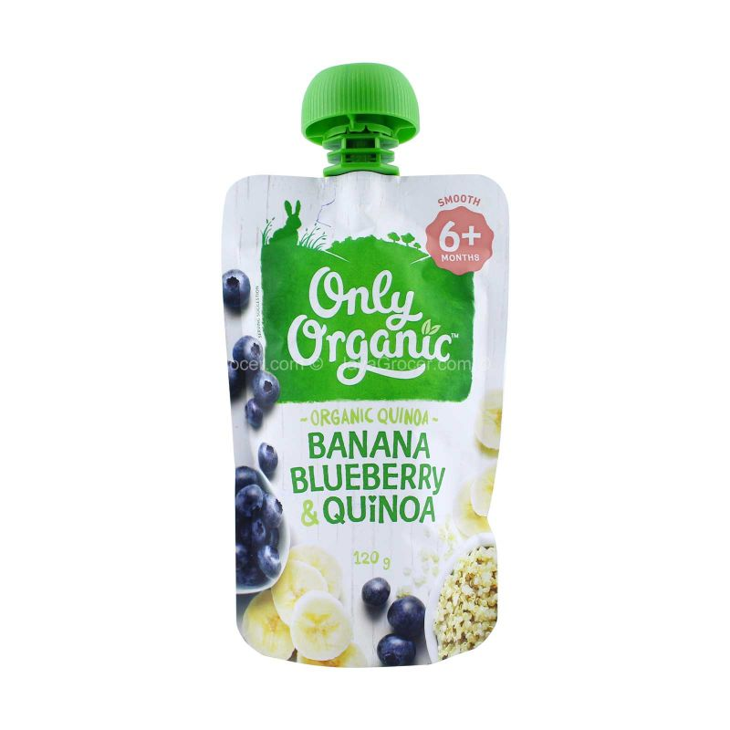 Only Organic Banana, Blueberry and Quinoa Baby Brekkie 120g