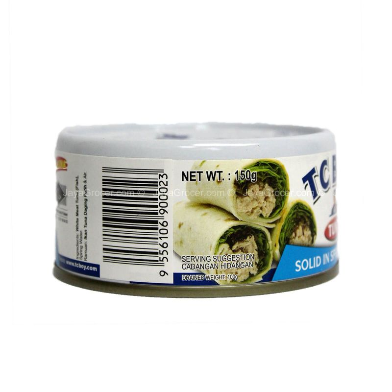 TC BOY Solid Tuna in Spring Water 150g