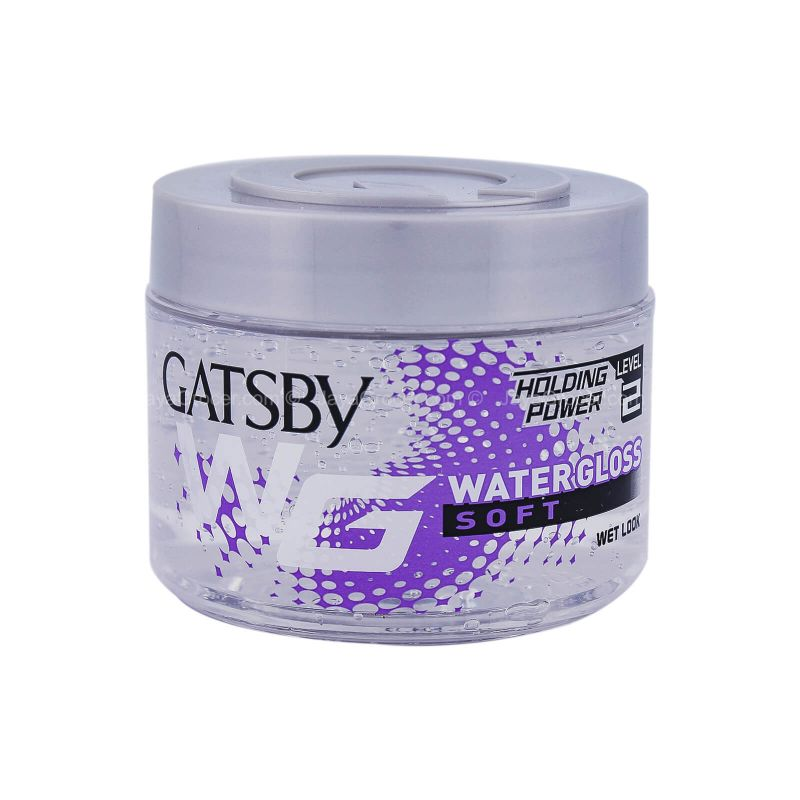 Gatsby Water Gloss Soft Hair Gel 300g