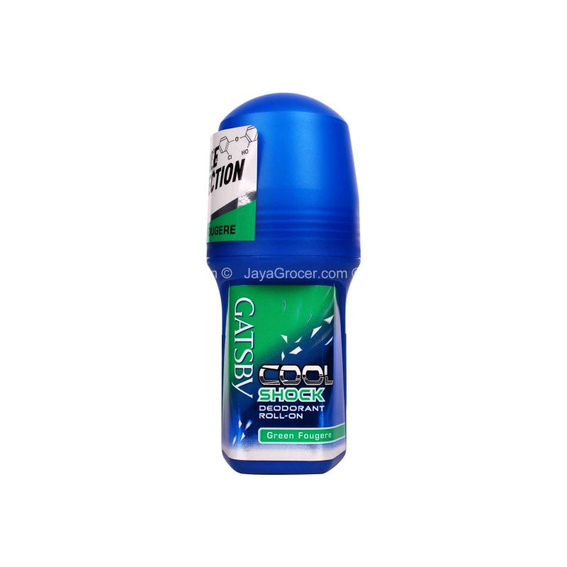 Gatsby Cool Shock Green Fougere Roll-On Deodorant 60ml