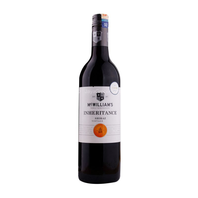 McWilliam's Inheritance Shiraz Wine 750ml