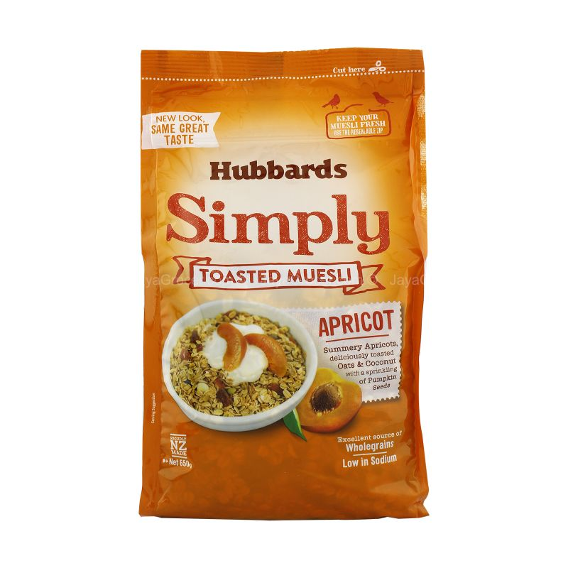 Hubbards Simply Apricot Toasted Muesli 650g