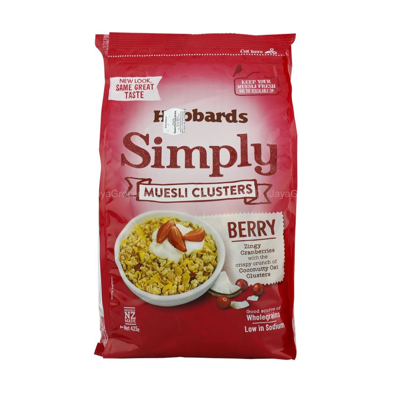 Hubbards Simply Berry Muesli Cluster 425g