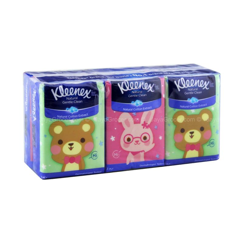 Kleenex UltraSoft Pocket Tissue Disney Collection 9sheets x 6packs