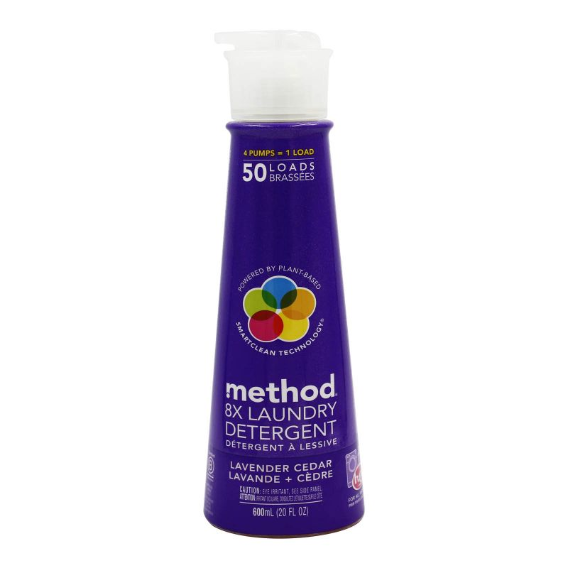 Method Laundry Detergent Lavender + Cedar 600ml