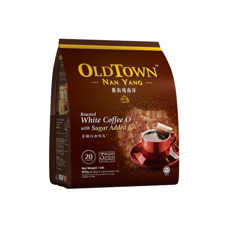 Old Town Nan Yang Roasted White Coffee O with Sugar O 600g
