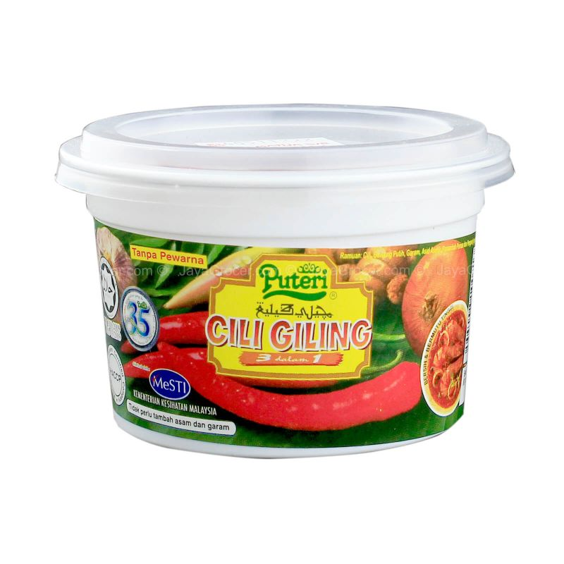 Puteri Cili Giling Cup 3in1 80g