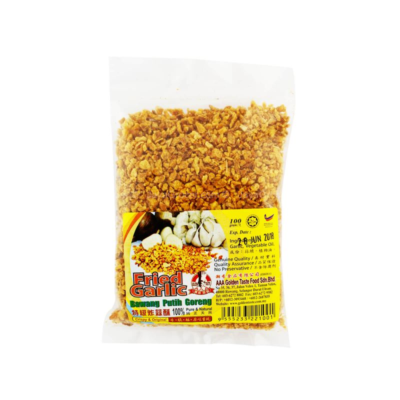 Golden Taste Fried Garlic 100g
