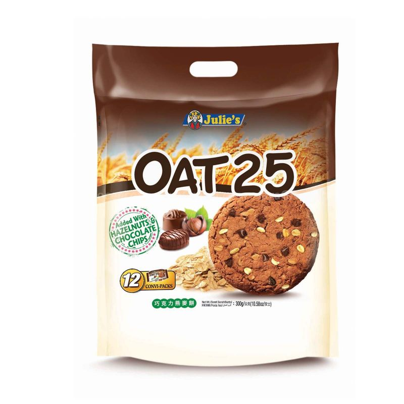 Julie's Oat25 Chocolate Biscuits 300g