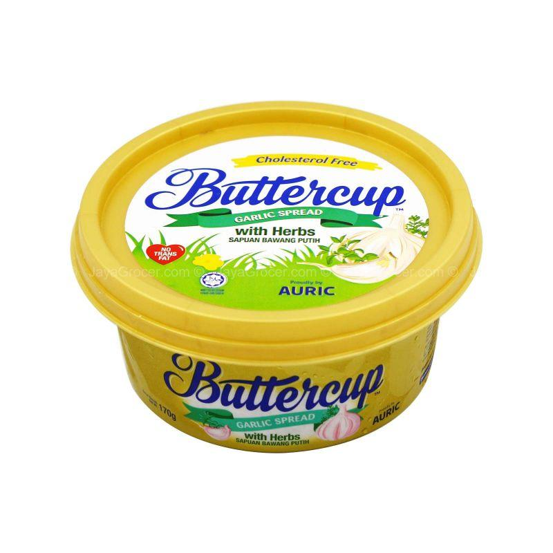 Buttercup Garlic Spread with Herbs 170g