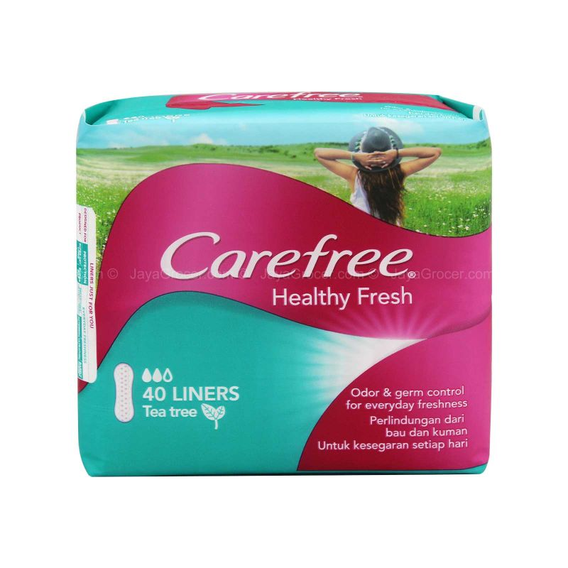 Carefree Healthy Fresh Pantiliner 40liners
