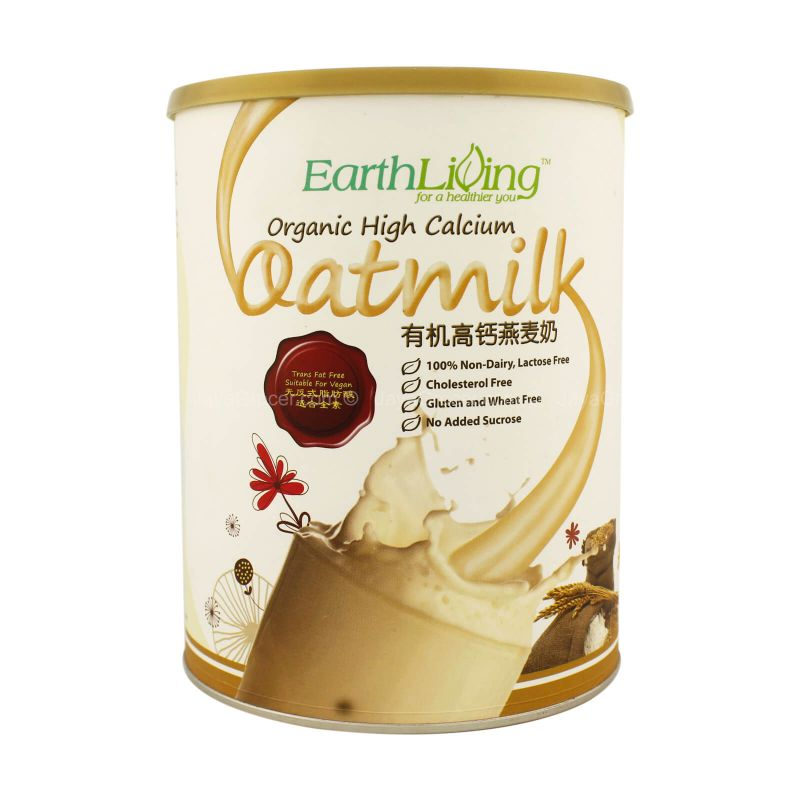 Earth Living Organic High Calcium Oatmilk Drink Mix 850g