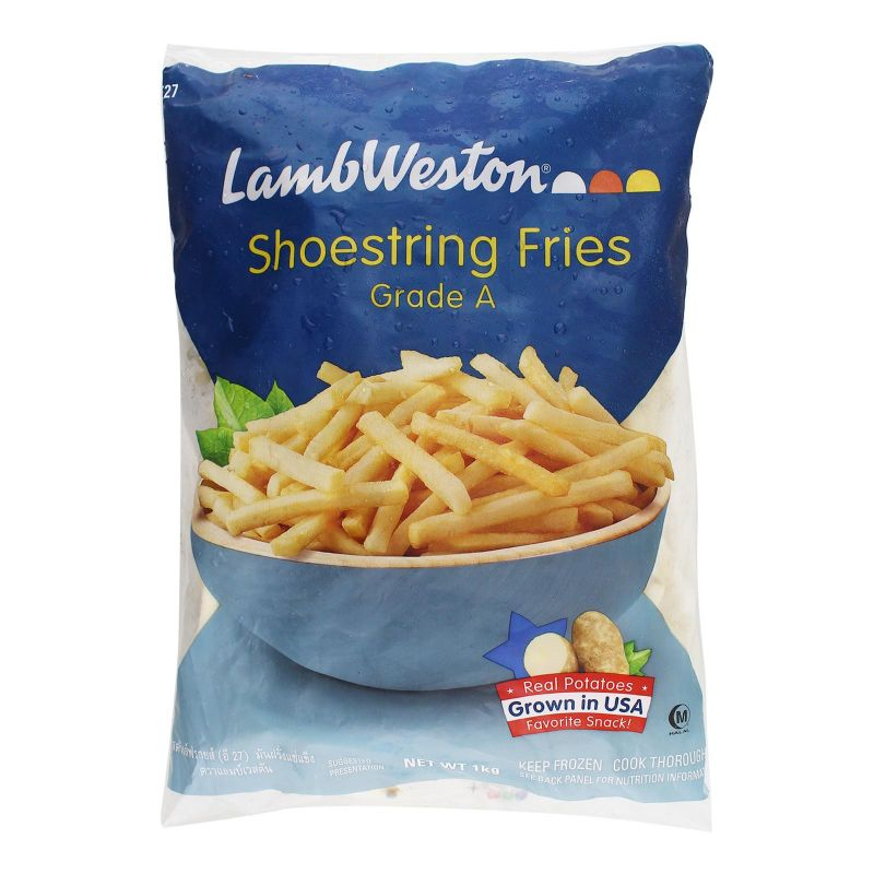 Lamb Weston Shoestring Fries Grade A 1kg
