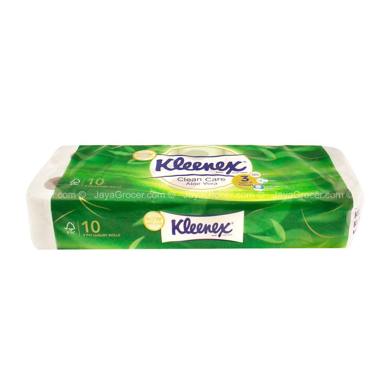 Kleenex Clean Care Aloe Vera Toilet Tissue 10rolls
