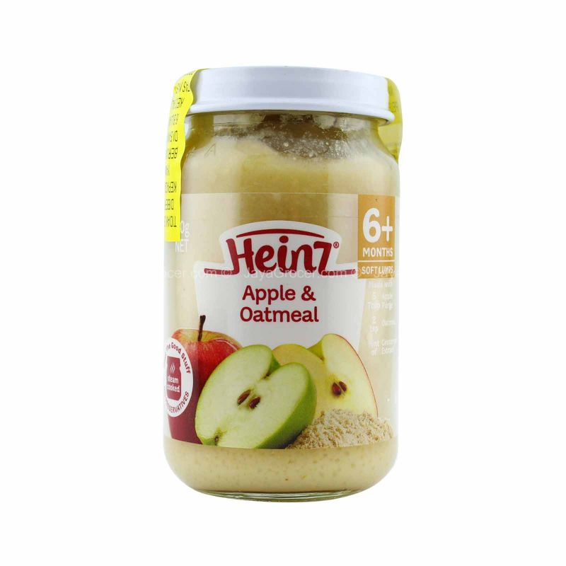 Heinz Apple & Oatmeal Baby Food (6 months ++) 170g
