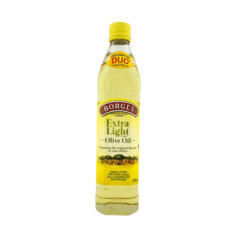 Borges Extra Light Olive Oil 500ml