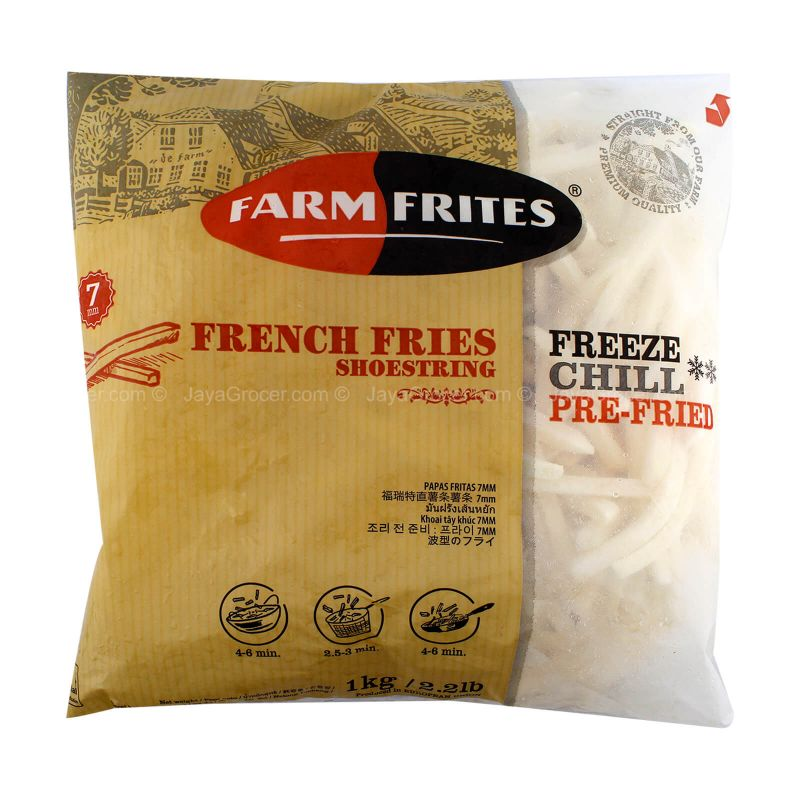 Farm Frites Shoes String French Fries 1kg