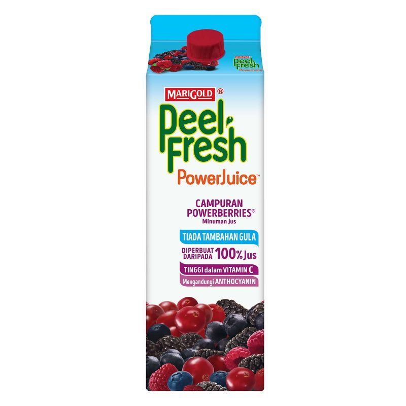 Marigold Peel Fresh Power Juice Power Berries Juice Drink 1L