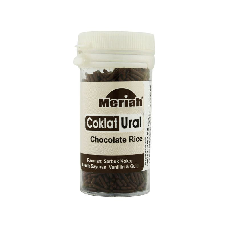 Meriah Chocolate Rice Cake Topping 30g