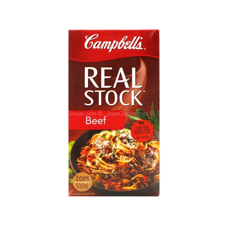 Campbell's Real Stock Beef 500ml