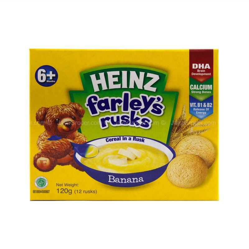 Heinz Farley's Cereal in A Rusk Banana Flavour 120g