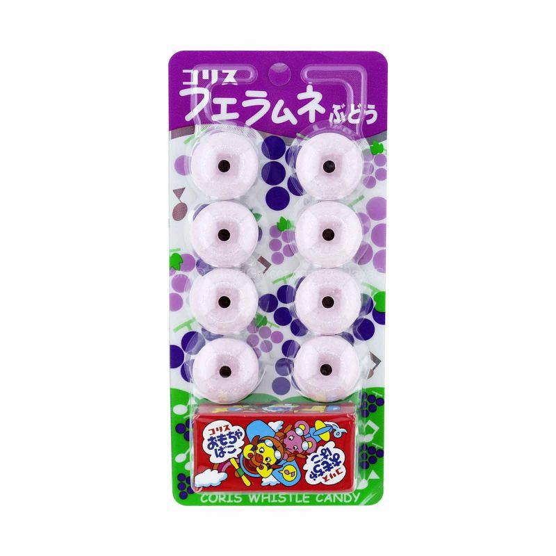 Coris Whistle Candy Grape Flavour 8pcs