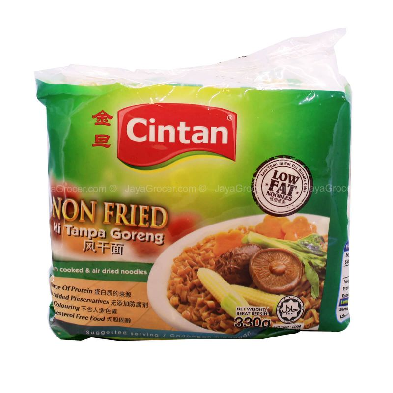Cintan Non-Fried Broad Noodle 330g