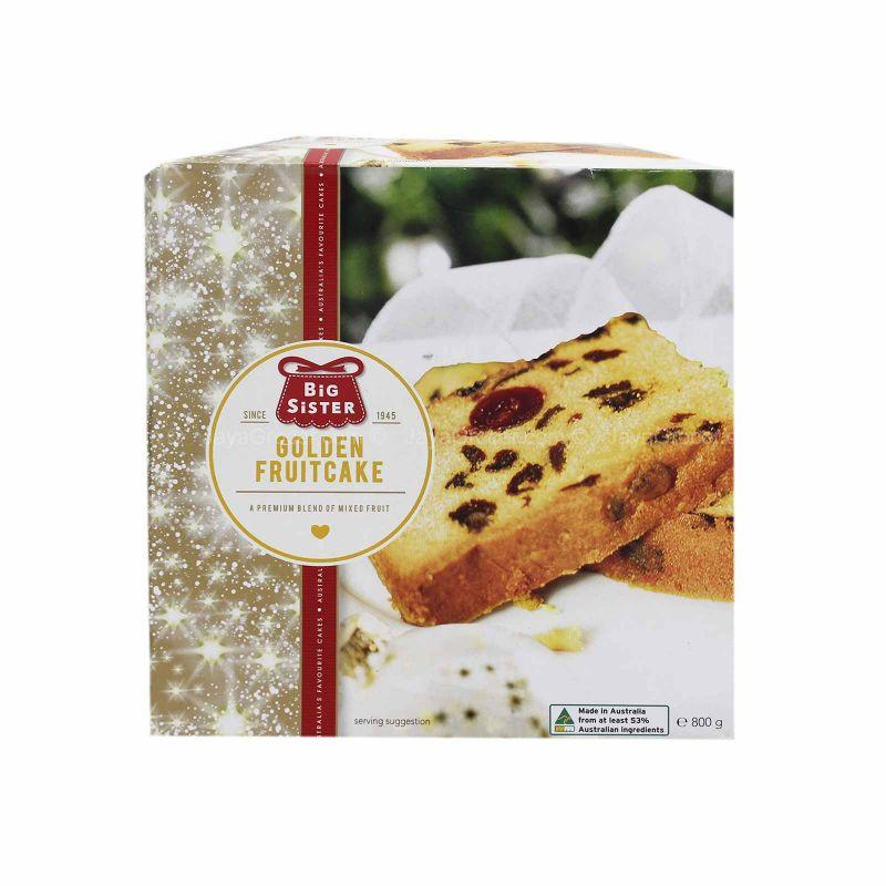 Big Sister Golden Fruitcake 800g