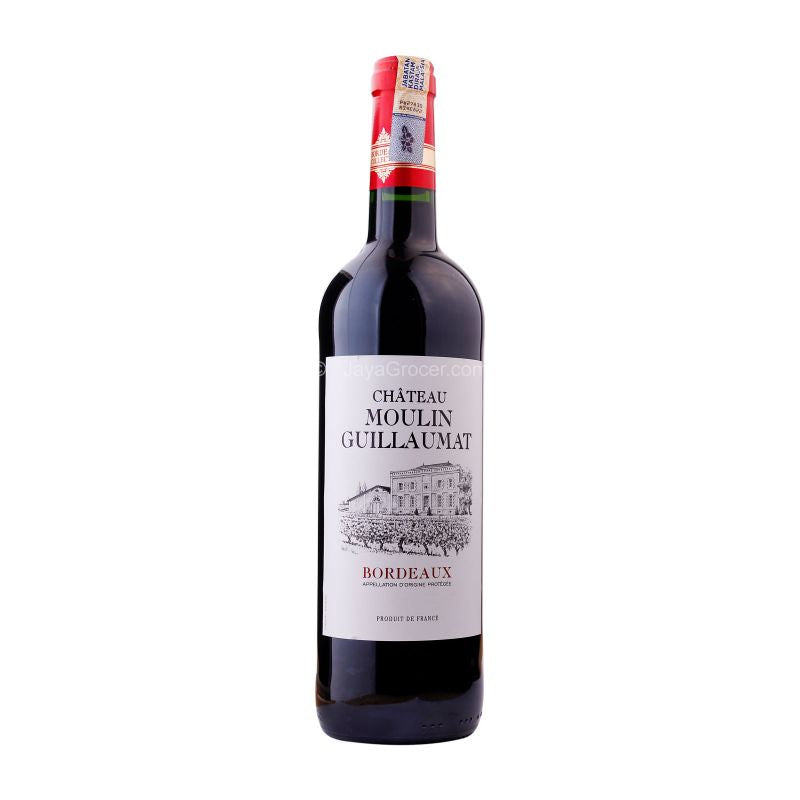 Chateau Moulin Guillaumat Bordeaux Wine 750ml