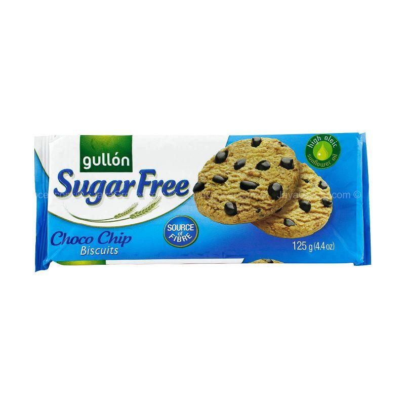 Gullon Sugar Free Chocolate Chips Biscuits 125g