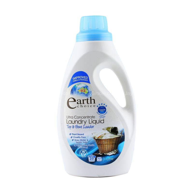 Earth Choice Ultra Concentrate Laundry Liquid 1L