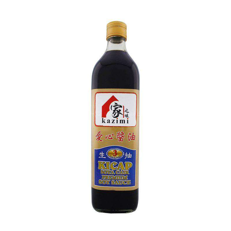 Kazimi Premium Light Soy Sauce (Naturally Fermented for 3 Years) 750ml