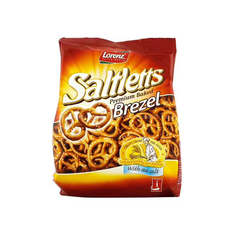 Lorenz Saltletts Premium Baked Brezel with Sea Salt 150g