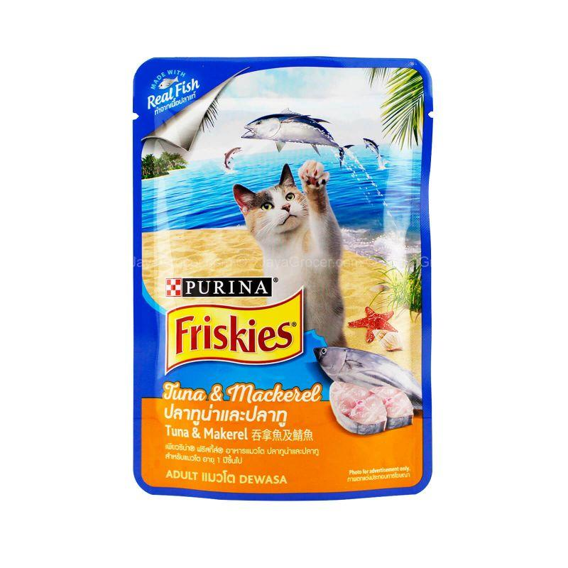 Friskies Pouch Tuna & Mackerel 80g