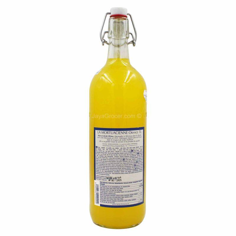 La Mortuacienne Orange Lemonade 1L