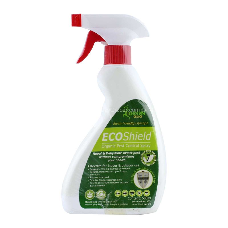Igreen Asia Eco Shield Organic Pest Control Spray 500ml