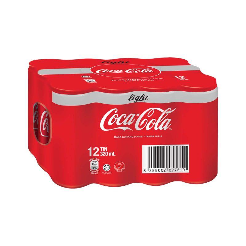 Coca-Cola Light Carbonated Drink 320ml x 12