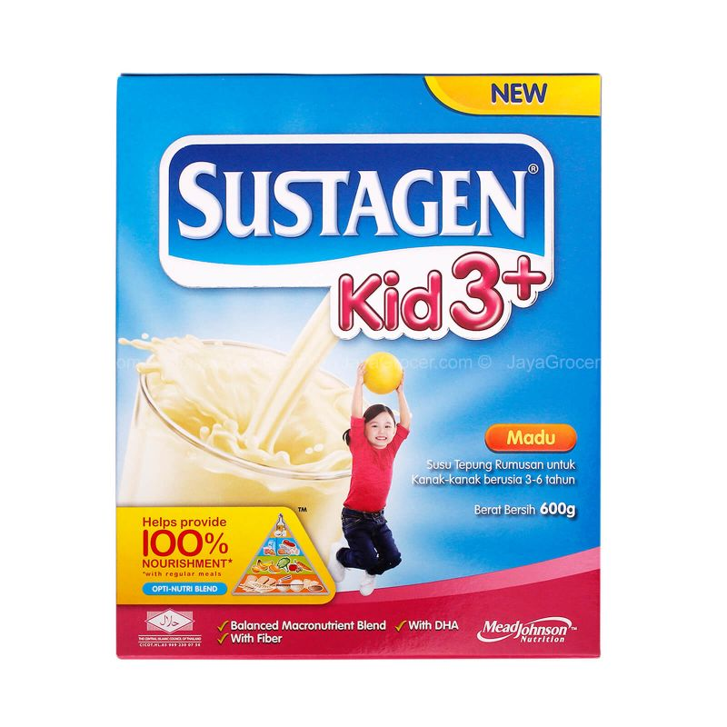 Sustagen Honey Kid 3+ Milk Powder 600g