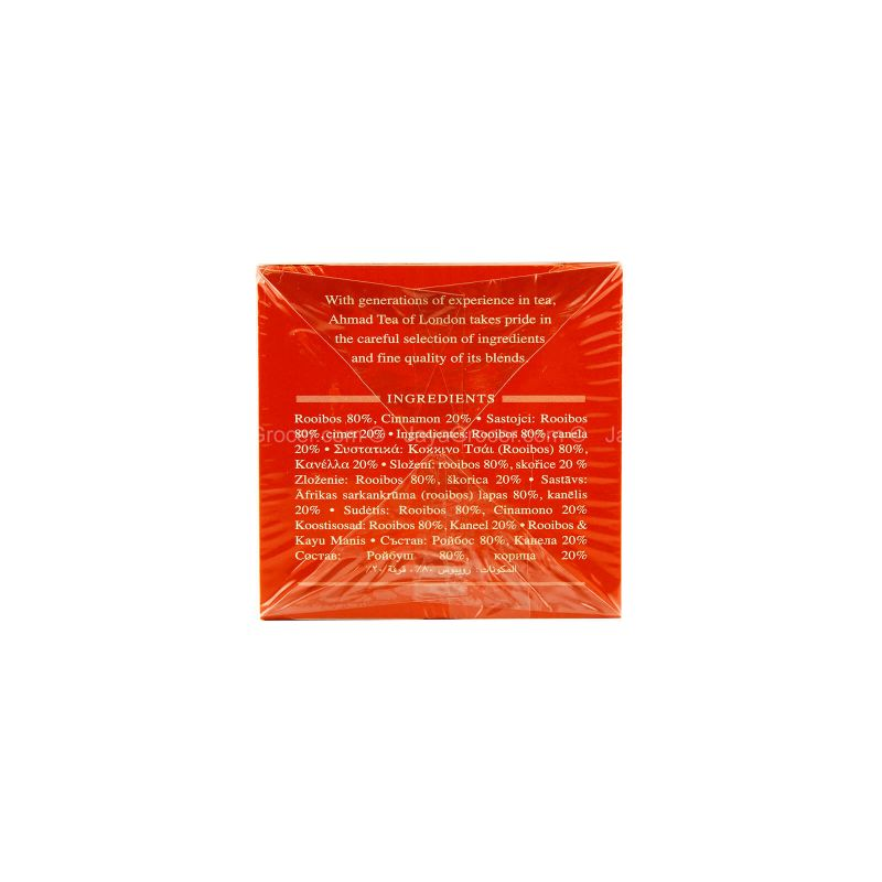 Ahmad Tea Rooibos & Cinnamon Tea 30g